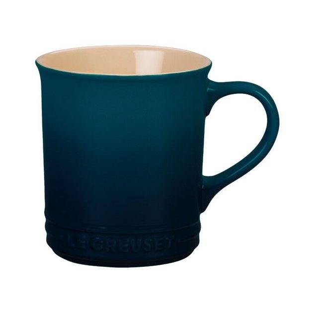 mug in blue color