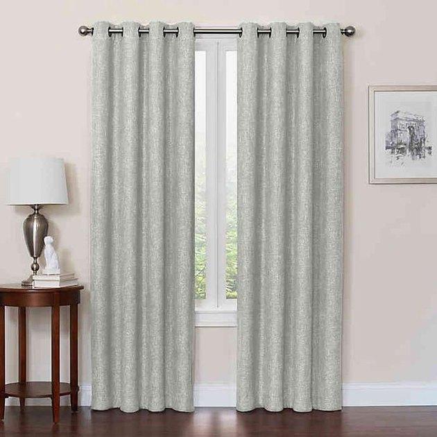 sage blackout curtains