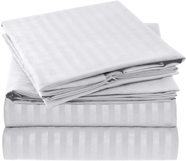 Mellanni 1800 Collection Striped Sheet Sets