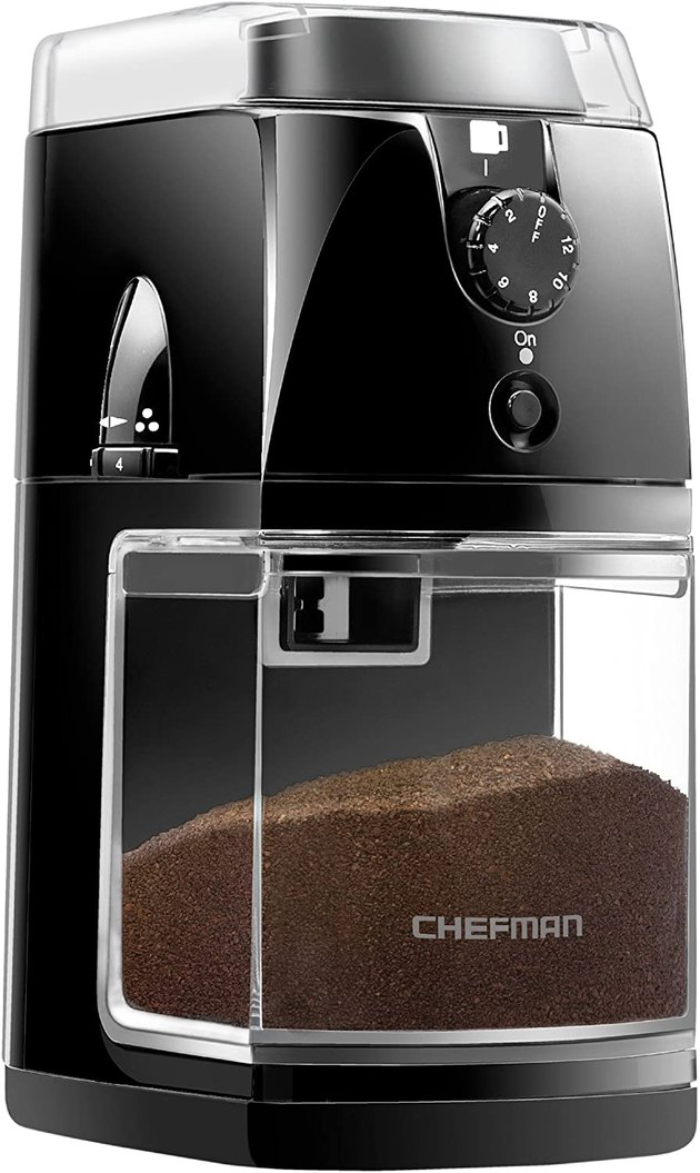Chefman Electric Burr Coffee Grinder