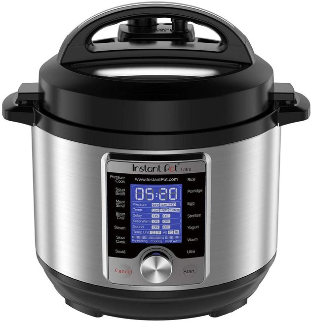 Instant Pot Ultra 3-quart 10-in-1 Multi-Use Programmable Pressure Cooker