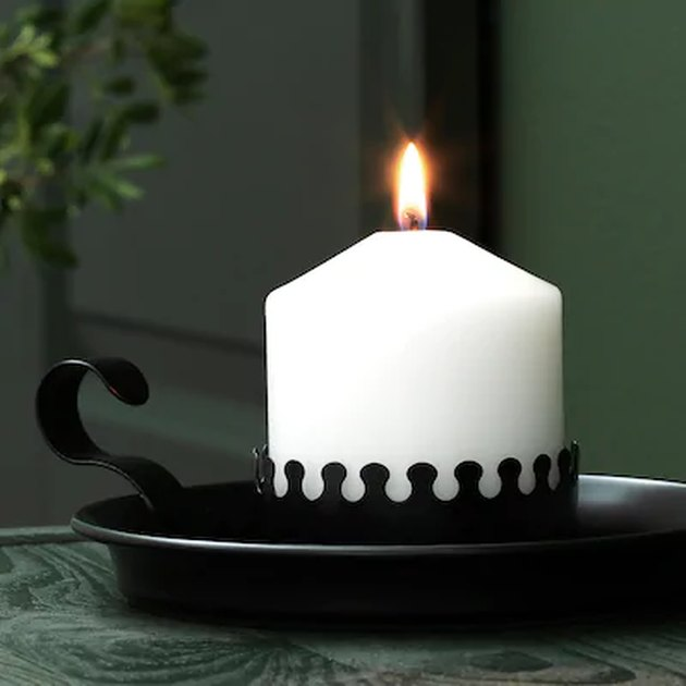 Ikea Block Candle Holder