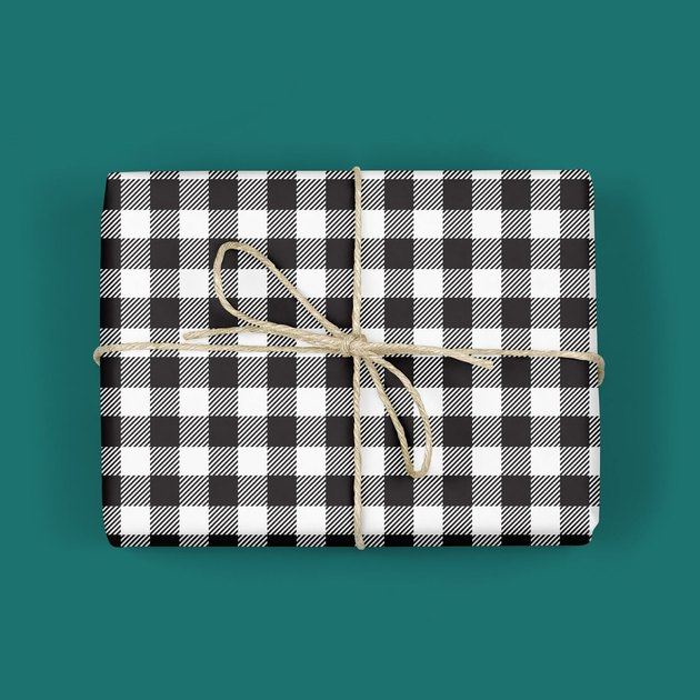 Melloworks Buffalo Plaid Wrapping Paper (2 sheets), $11