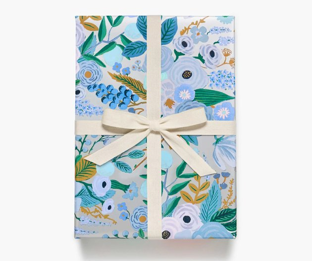 Rifle Paper Co. Garden Party Silver Wrapping Roll, $10