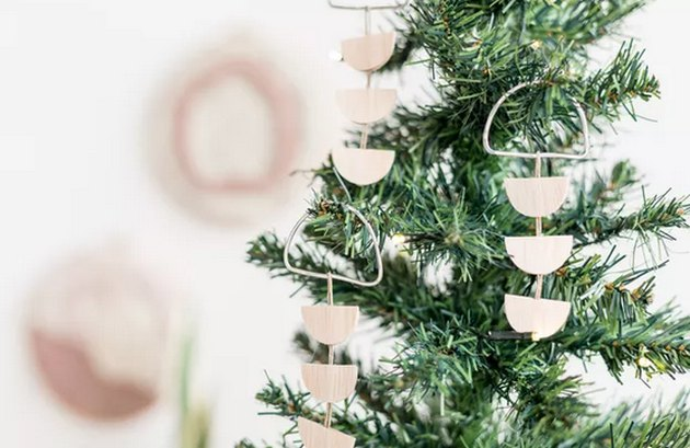 Raw Wood Ornaments