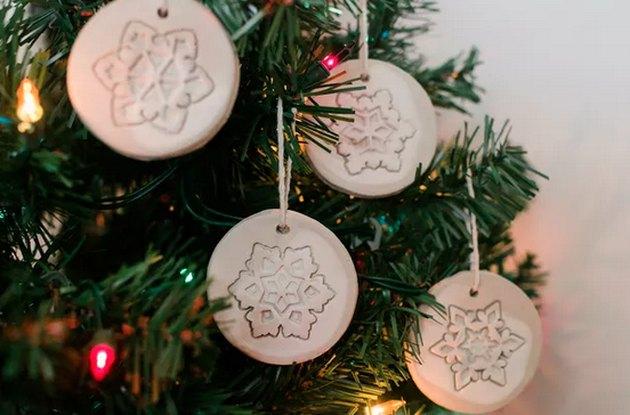 Air-Dry Clay Ornaments