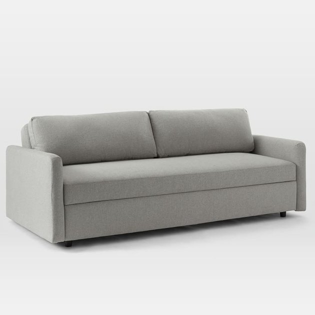 Sleeper eco-friendly couch from West Elm
