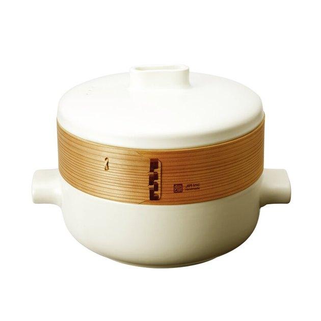 ceramic steamer basket