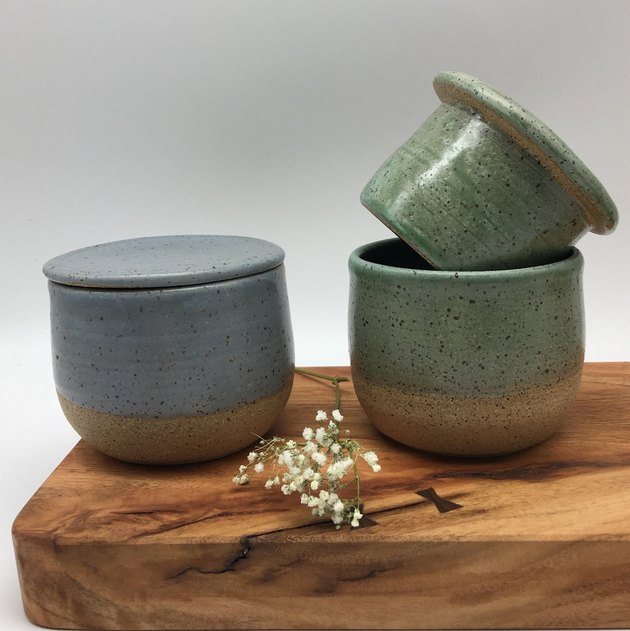 CP Clay Art French Butter Crock, $33