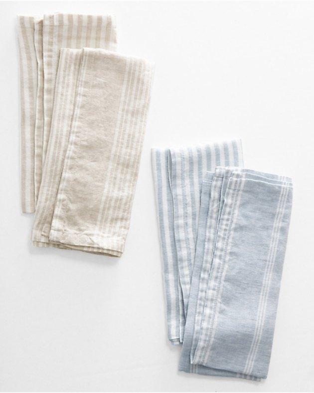 Garnet Hill Linen Kitchen Towels (set of 2), $39