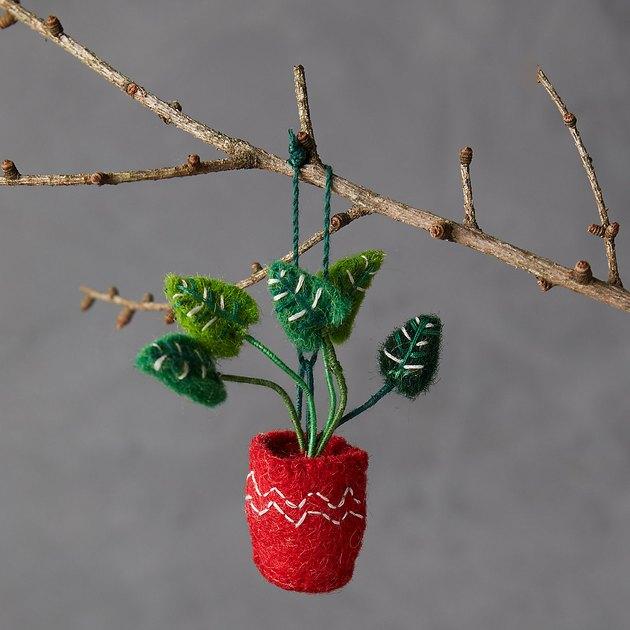 Terrain Monstera Ornament