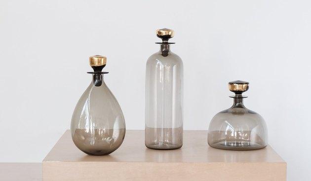 Spartan Shop Hand-Blown Glass Decanter