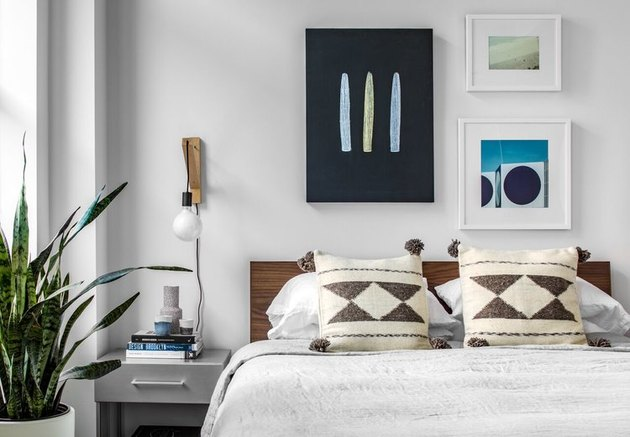 bedroom gallery wall ideas