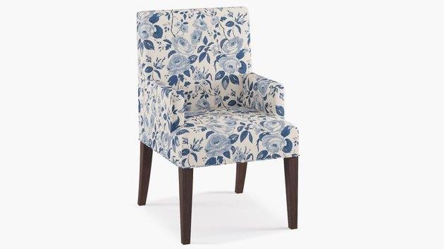 chintz armchair