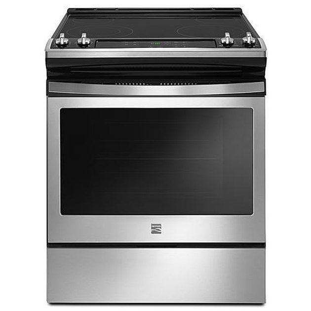 Kenmore 95113 4.8 cu. ft. Freestanding Electric Range with Turbo Boil – Stainless Steel, $1149.99 eco-friendly stove oven
