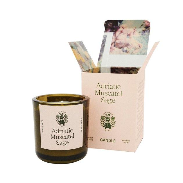 Flamingo Estate Adriatic Muscatel Sage Candle, $45