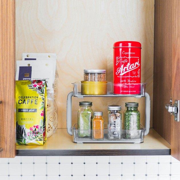 spice organizer two-level