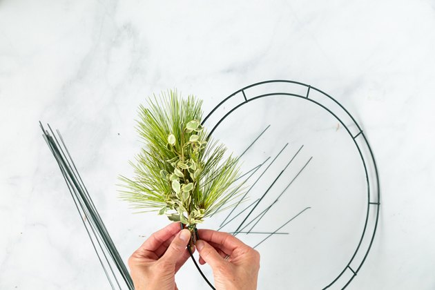 forage wreath tutorial