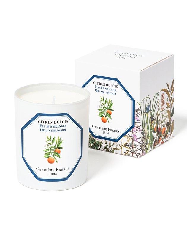 Carrière Frères Orange Blossom Candle, $54