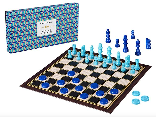 Ridley's Games Room Chess/Checkers Set, $19.99