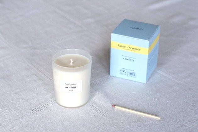Papier d'Arménie Candle, $38