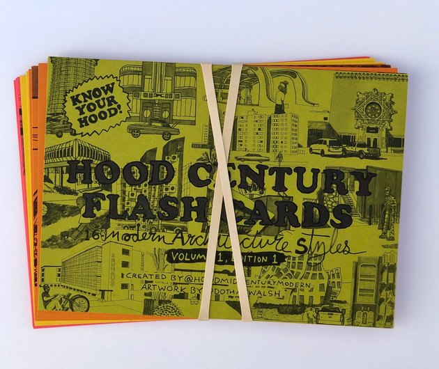 flash cards with rubber band