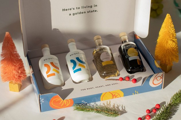 Brightland olive oil and vinegar gift set