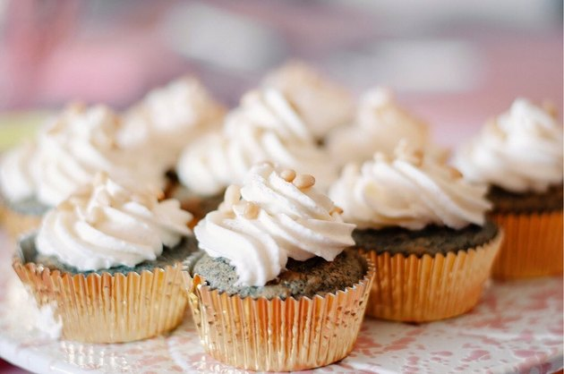 The Fancy Navajo Blue Corn Cupcakes
