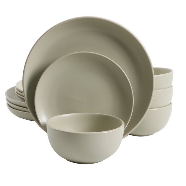 Pale green dishes