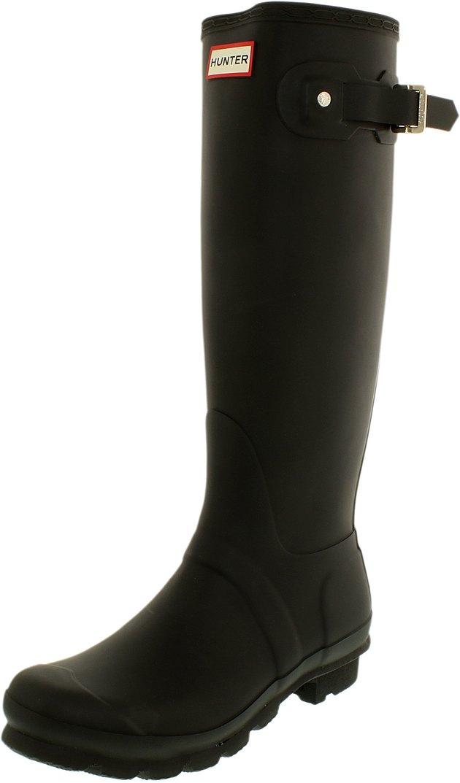 tall black Hunter rain boot