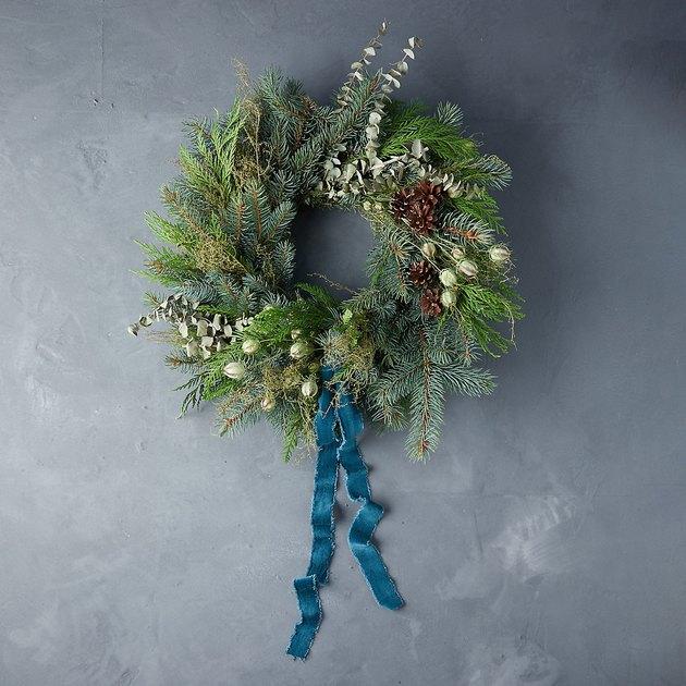 wintry wreath