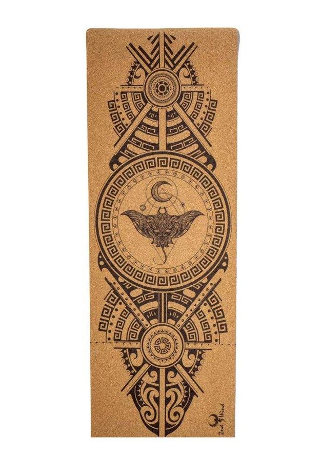 2nd Wind Stingray Cork Yoga Mat
