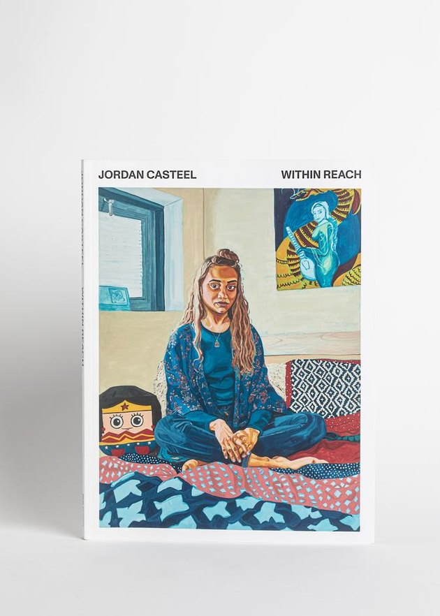 book with artwork on the cover and text that reads Jordan Casteel