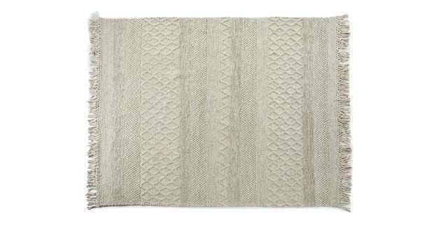 alabaster textured rug