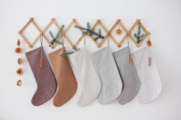 The Blanket Thief Linen Stockings, $36.27