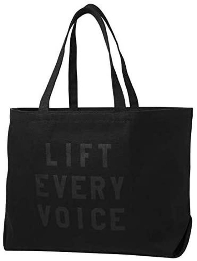 tote that says lift every voice
