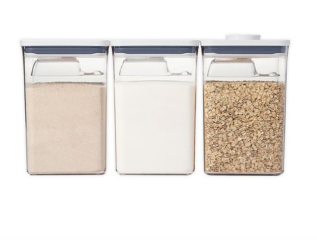 oxo dry good food storage containers