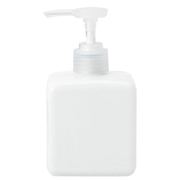 white porcelain square dispenser