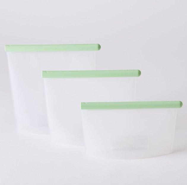 silicone bags for food storage containers
