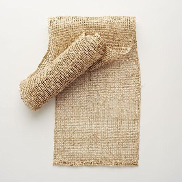 natural fishnet woven table runner