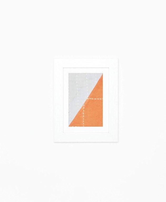 Anchal Project Patchwork Textile Framed Art