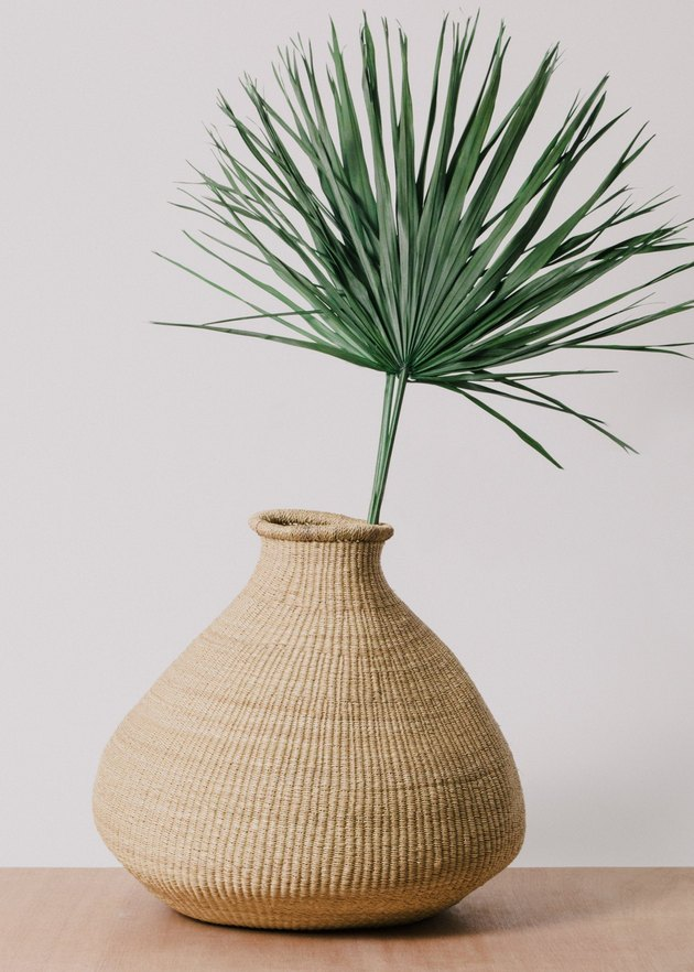 Made Trade Natural Grass Bud Vase