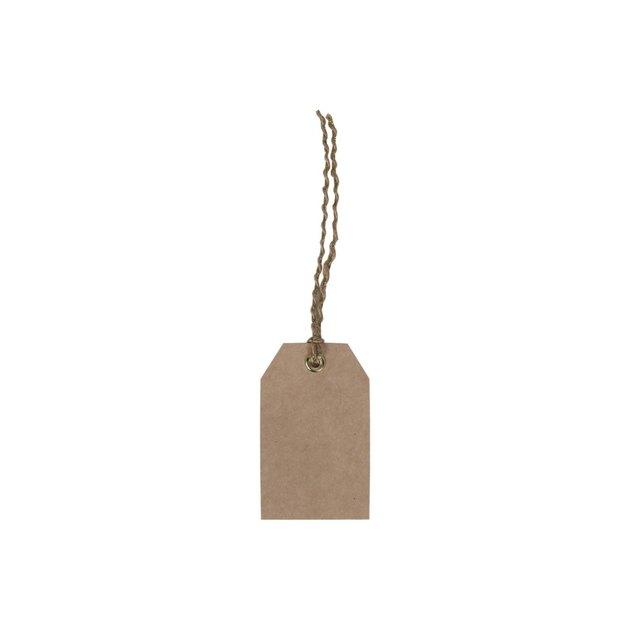 Target 10ct Kraft Gift Tags Brown - Spritz