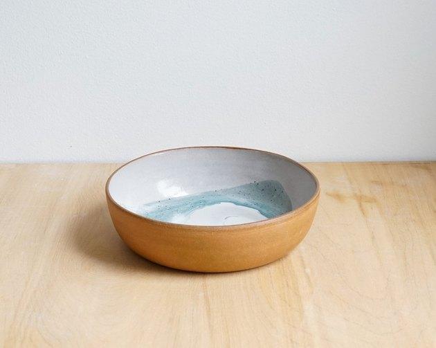 Helen Levi Shallow Bowl, ocean