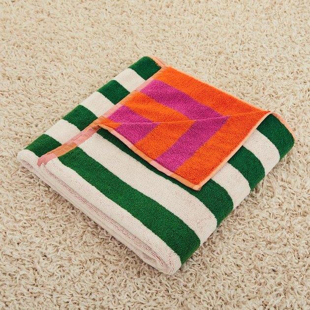 Dusen Dusen Tulip Stripe Bath Towel