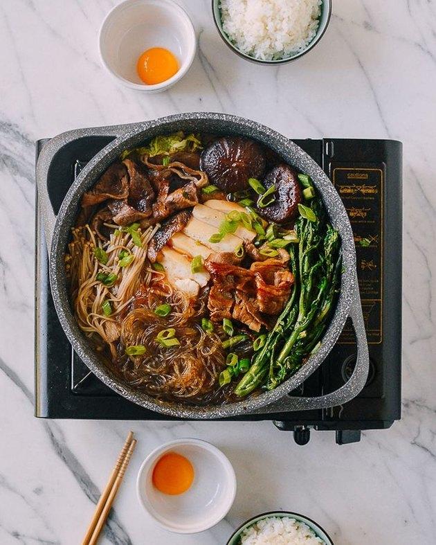 The Woks of Life Sukiyaki (A Japanese One-Pot Meal)