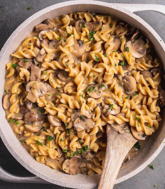 Sweet Simple Vegan One-Pot Mushroom Stroganoff
