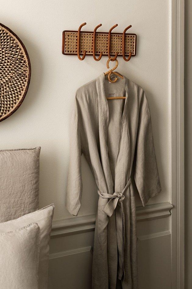 H&M Washed Linen Bathrobe, $49.99