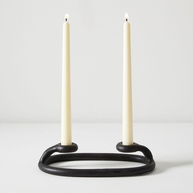 SIN double candlestick holder