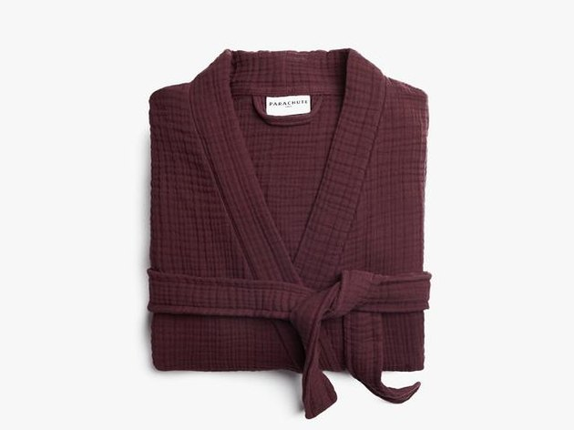 mulberry cotton robe